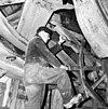 molen van de polder de bergermeer, inwendig kruirad van de achtkant - alkmaar - 20031478 - rce