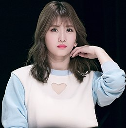 Momo Hirai at Twice Sudden Attack Fan Meeting on March 25, 2017 (2).jpg