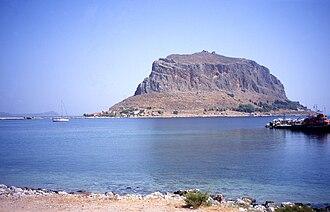 Minoa - Monemvasia island in southern Greece, the ancient Minoa