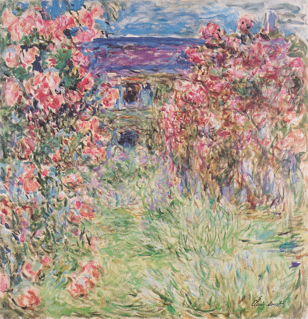 Monet - Das Haus in den Rosen
