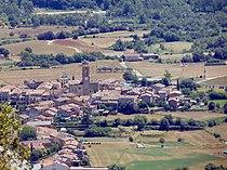 Montagut (Garrotxa) 4 vist des del Castell de Montagut.jpg