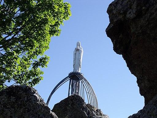 La Madonna degli Scout sulla Vetta del Monte Amiata.