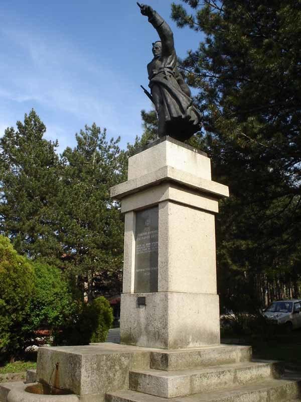 Monument Rajac Serbia 1