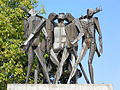 Monumento alla Resistenza dettaglio fronte.JPG