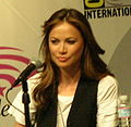 Moon Bloodgood at WonderCon 2009 4.JPG