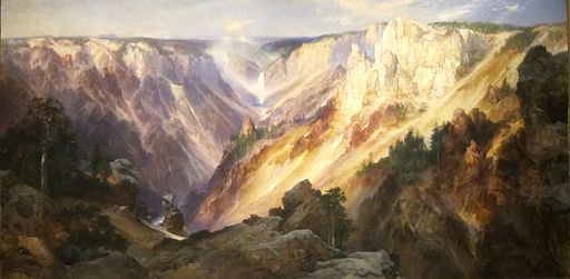 Moran, Thomas - Grand Canyon of the Yellowstone, 1904