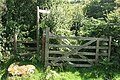 Moretonhampstead, stile and gate - geograph.org.uk - 1442520.jpg