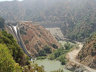 Morris Dam Dam in Los Angeles County, California