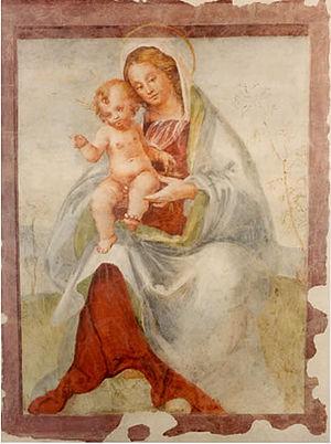Morto da Feltre - Virgin and Child, Civic Museum of Feltre
