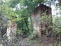 Morysin - zespół pałacowo-parkowy - domek stróża - ruiny - widok wschodni - 1.jpg