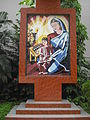 Mosaiced image of Mary, mother of Jesus.JPG