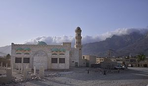 Hadibu - Mosque in Hadibu, Socotra island.