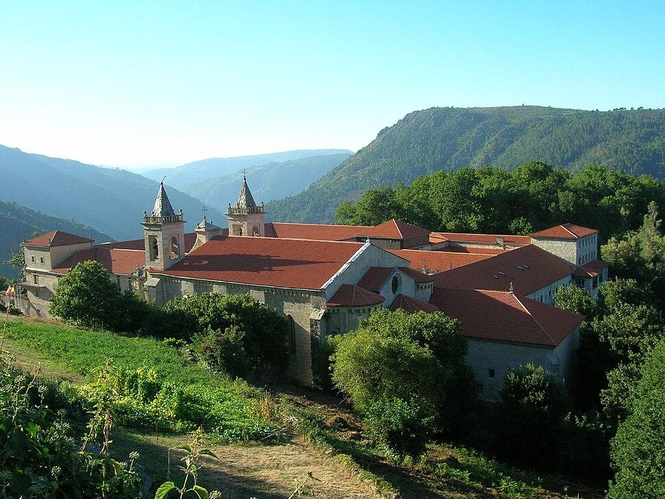 Mosteiro de Santo Estevo de Ribas de Sil, Nogueira de Ramuín, Galiza