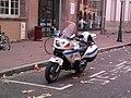 Moto Honda NT police municipale de Strasbourg.jpg