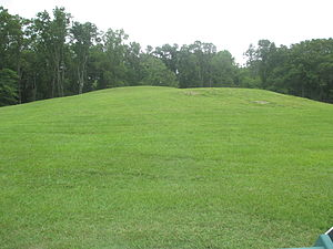 Poverty Point - Mound B field