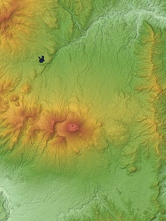 Mount Asama - Relief Map