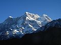 Mount Chaukhamba viewed from Buda Madhyamaheshwar top 02.JPG