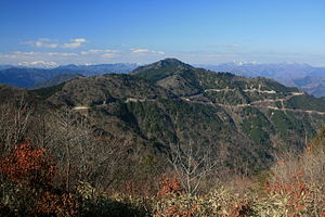 Mount Koga from Mount Fukube.jpg