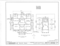 Mount Nebo House, Route 22, Milledgeville, Baldwin County, GA HABS GA,5- ,1- (sheet 1 of 4).png