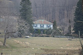 National Register of Historic Places listings in Bland County, Virginia - Image: Mountain Glen farmhouse