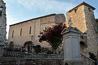 Moux Medieval Church.JPG