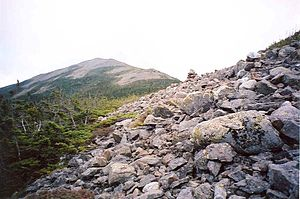 Mount Abraham (Maine) - Mount Abraham seen from the Mount Abraham Side Trail