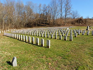 Mount Moriah Cemetery (Philadelphia) - The Civil War section