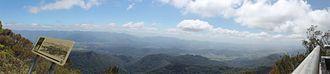 Mount Warning - Image: Mt warning panorama