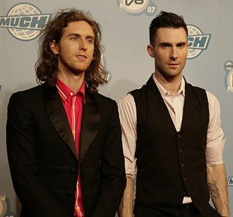 Adam Levine - Levine (right) with bandmate Jesse Carmichael in 2007