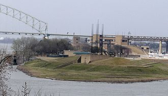 Mud Island, Memphis - Mississippi River Park (2007)