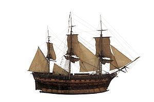 French frigate Muiron - Image: Muiron IMG 8665