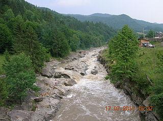 Tarcău (river) river in Romania