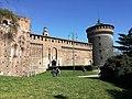 Mura esterne del Castello Sforzesco.jpg