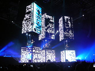 The Resistance (album) - Muse performing Resistance at the Birmingham NIA.