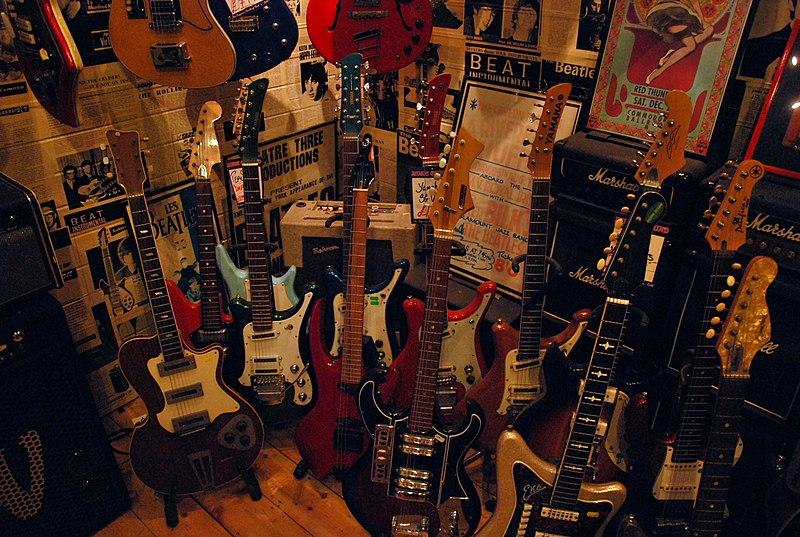 scelta chitarra e amplificatore