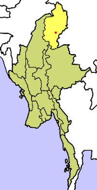 Location of Estado de Kachinkahkyin-pi-nai