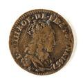 Mynt, Frankrike, 1657 - Skoklosters slott - 109456.tif