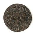 Mynt av silver. 2 öre. 1591 - Skoklosters slott - 109125.tif