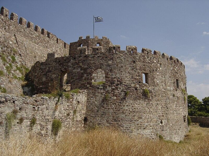 Αρχείο:Mytilene medieval castle SouthWest.JPG