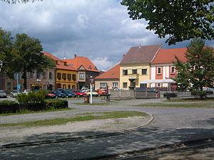 Bechyně - Image: Náměstí v Bechyni