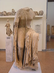 Statue of Hygieia by Timotheos