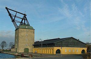 Holmen, Copenhagen - The north side of the building