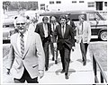 NCTR Employees Derrill Pierce (Pine Bluff (AR) Alliance) arrives with Governor Bill Clinton at NCTR, June 16, 1983. (7421769002).jpg