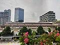 NS1 EW24 Jurong East MRT exterior 20210622 183022.jpg