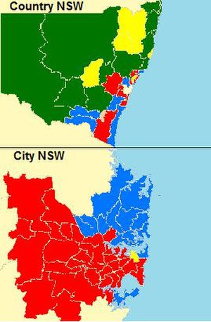 New South Wales state election, 2007 - Outcome of the 2007 election
