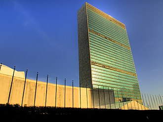 Headquarters - The headquarters of the United Nations in New York City, U.S.