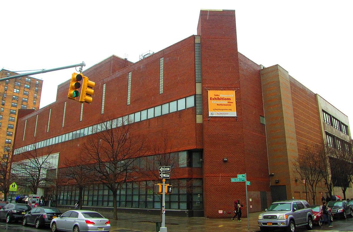 Schomburg Center for Research in Black Culture - Wikipedia