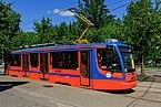 Nagatino-Sadovniki tram on NagatinskayaStreet img3 05-2015.jpg