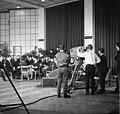 Nagykáta 1969, Kultúrház, az MTV Az ingázó falu című műsor - Fortepan 89683.jpg