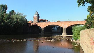 Nahebrücke in Bad Kreuznach